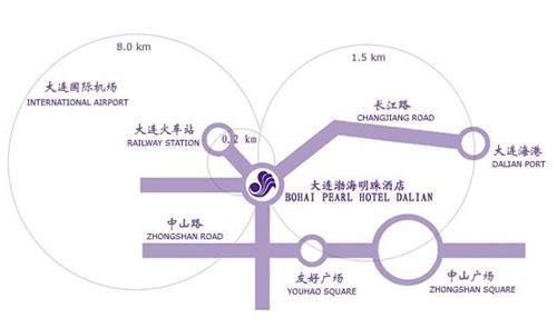 大连渤海明珠酒店_大连火车站附近大连渤海明珠酒店电话地址房